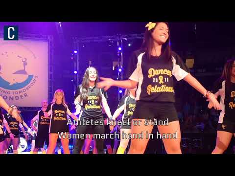 SEE IT: THON 2018 takes part in the Line Dance