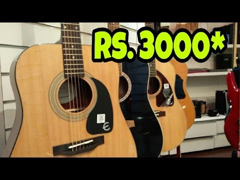 Cheapest Guitars in Hyderabad | Musical Instruments | #vlog9