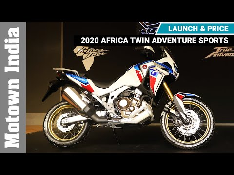 2020 Africa Twin Adventure Sports | Launch & Price | Motown India