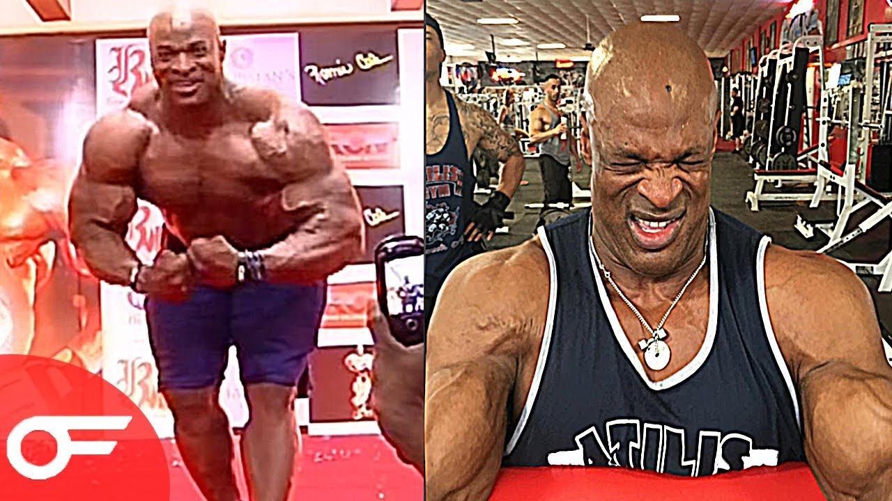 53 year old bodybuilder ronnie coleman 2017 youtube