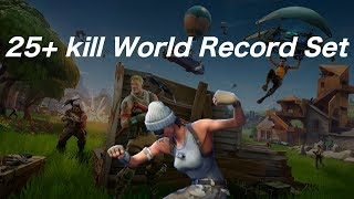 SO WE DID SET A WORLD RECORD FOR TRIO SQUAD FORTNITE: Battle Royale