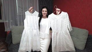 Белые платья из кружева макраме. Обзор нового и старого платья. Влог