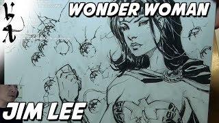 Jim Lee - Wonder Woman Draw Along