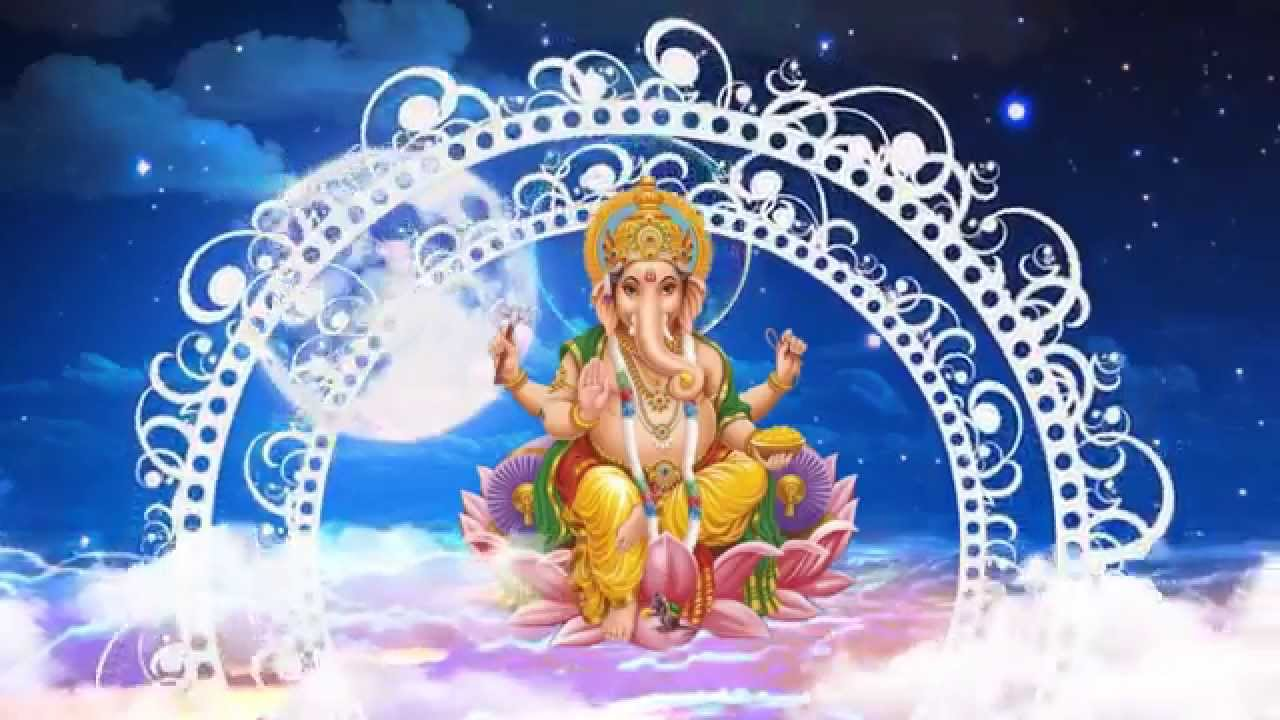 Ganesha Background Animated Video Free Downloads Youtube