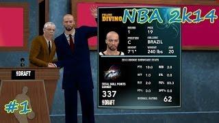 NBA2k14 para PC - EP01 Estréia como Central Pivô no NBA Draft