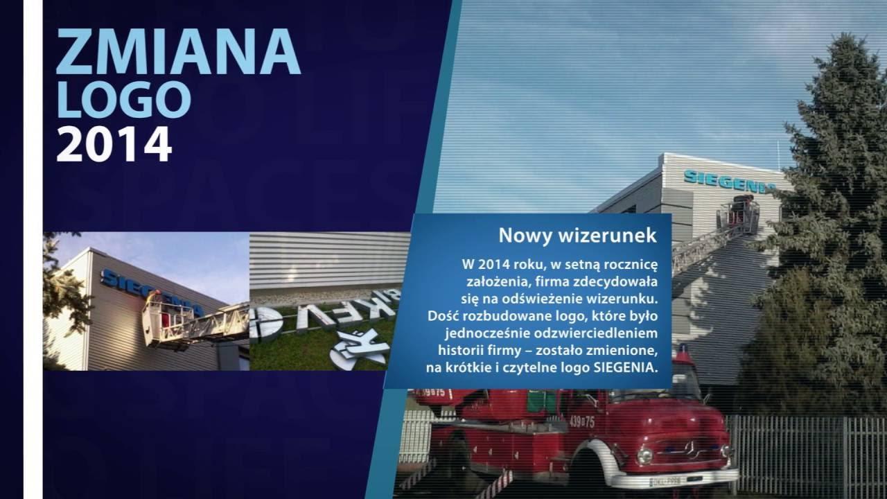 Inwestycje Siegenia Group w Polsce 1996 - 2017