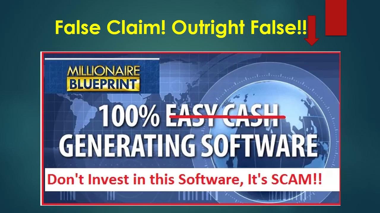 Millionaires blueprint review scam or legit truth exposed millionaires blueprint review scam or legit truth exposed malvernweather Image collections