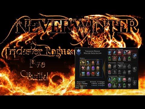 Neverwinter - Lvl 70 Trickster Rogue MI Saboteur/Exec PVE Update Build