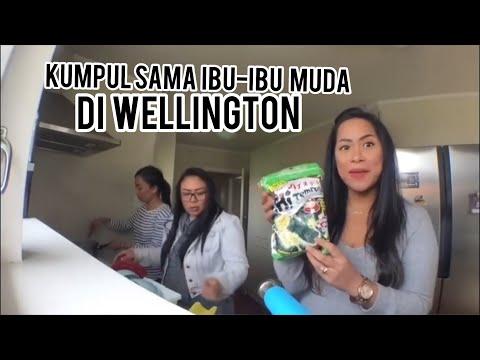 Vlog #8 | ASIAN STORE | RUMAH BARU GOBER | MASAK MIE | WELLINGTON | NZ | DAILY VLOG | ISTRI BULE