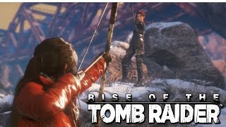 Rise Of The Tomb Raider #6 (Xbox One) - Confrontos e a Base Soviética