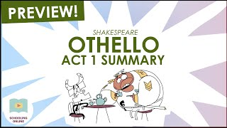 Othello Act 1 Summary Preview - Shakespeare Today Series - Schooling Online