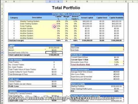 Forex money management xls