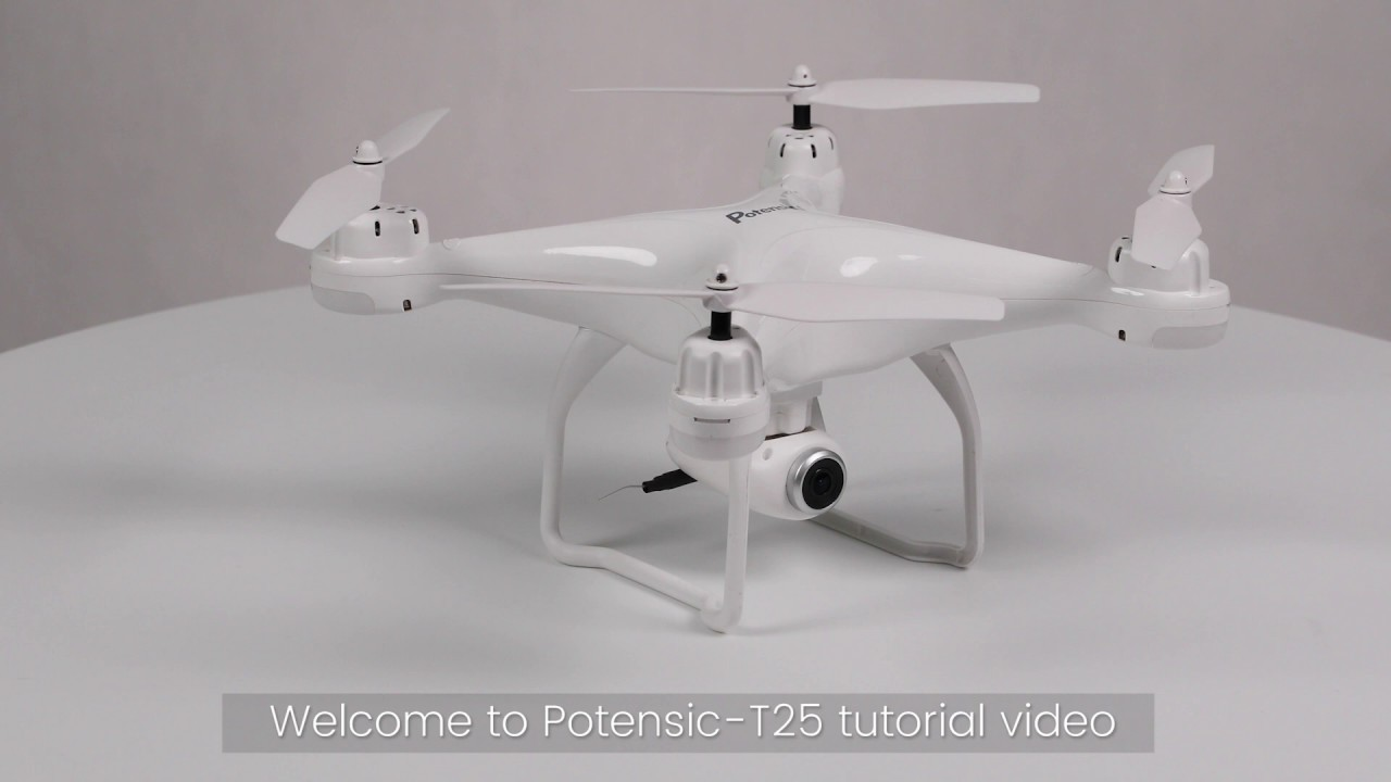 Download How to Pair and Calibrate Potensic T25 GPS Drone
