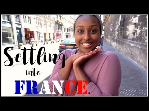 SETTLING INTO FRANCE! | Travel Diary #1