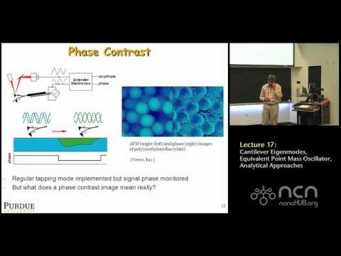 ME 597 Lecture 17: Cantilever Eigenmodes, Equivalent Point Mass Oscillator, Analytical Approaches