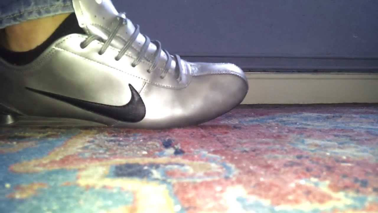 new styles 14193 6587e New Nike shox rivalry silver HD - YouTube