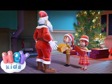 Père Noël chanson 🎅 Chants de Noël pour les maternelles   HeyKids