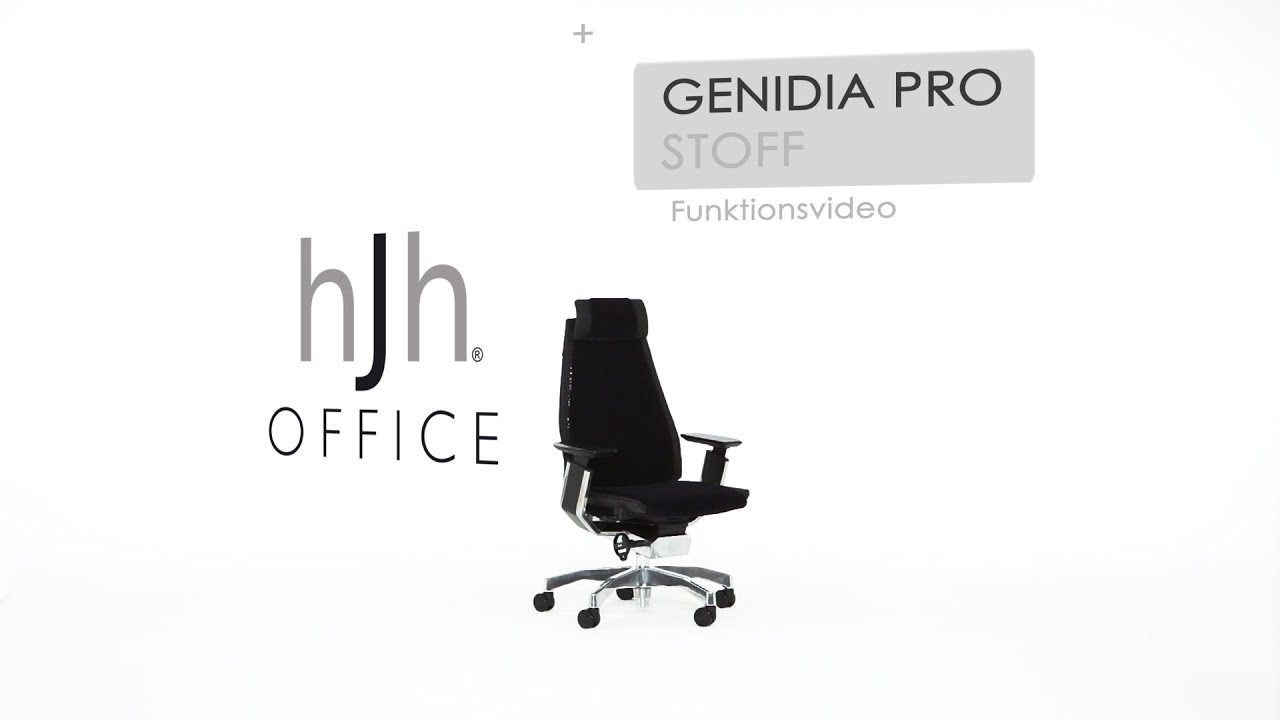 Demontage Gasfeder Hjh Office Genidia Pro Stoff Funktionsvideo Hjh Office
