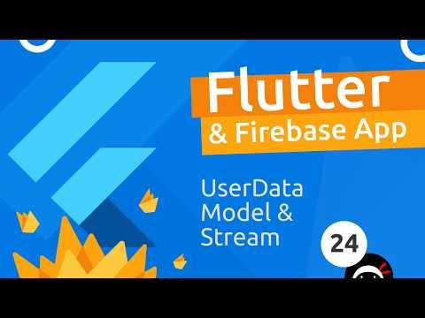Flutter & Firebase App Tutorial #24 - User Data Model