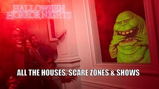 Halloween Horror Nights 2019 Orlando is AMAZING: All Houses, Scare Zones & Shows