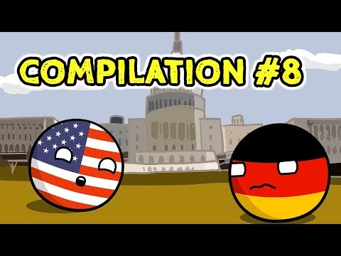 Countryballs Compilation - #8