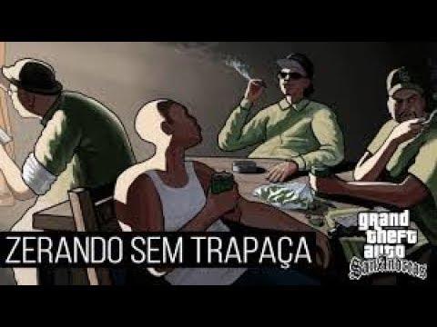 ZERANDO GTA SAN ANDREAS SEM USAR TRAPAÇA!!