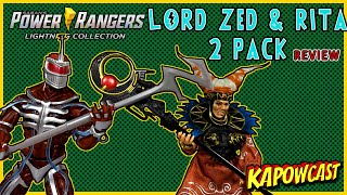 POWER RANGERS LIGHTING COLLECTION RITA REPULSA AND LORD ZED GAMESTOP EXCLUSIVE 2 PACK
