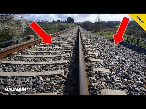 Esta es la escalofriante razón por qué las vías del Tren están llenas de piedras