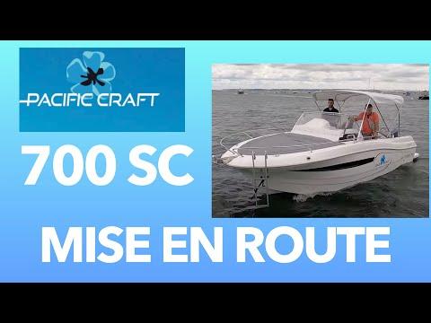 Pacific Craft 700 Sun Cruiser  06  Premiers Essais Grand Piquey Cap Ferret