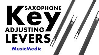 Saxophone Key Adjusting Lever