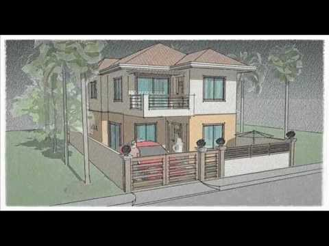 House Design   Sketch Up Building Style Animation   YouTube