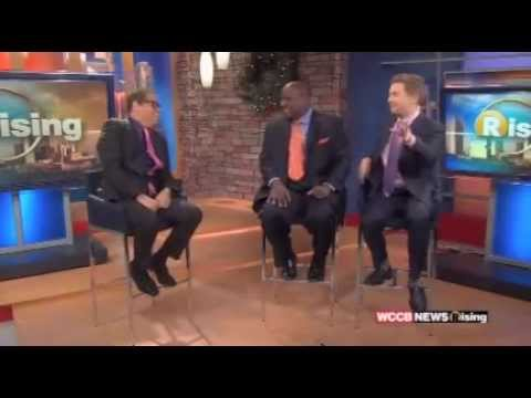Comedian Greg Morton on  WCCB Charlotte News Rising