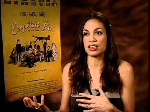 Explicit Ills - Exclusive: Rosario Dawson Interview