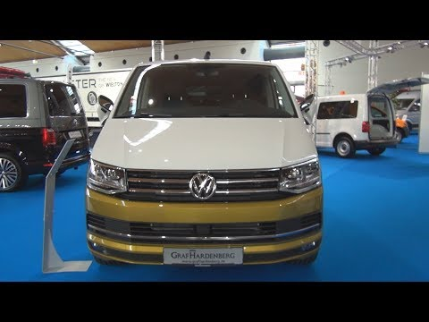 Volkswagen Transporter T6 Multivan 70 Years Bulli 2.0 TDI 7 DSG 2018 Exterior and Interior