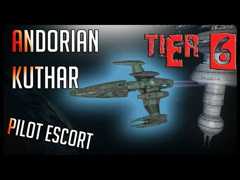 Andorian Kuthar Pilot Escort [T6] – with all ship visuals – Star Trek Online