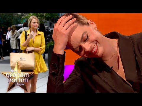 Why Margot Robbie Stole Toilet Paper In A Ralph Lauren Bag | The Graham Norton Show