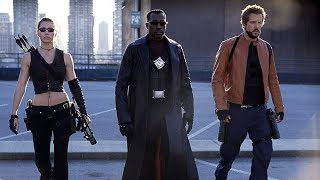 BLADE: TRINITY...I See Wesley Snipes Alone, Surrounded By Enemies...And It Breaks My Heart