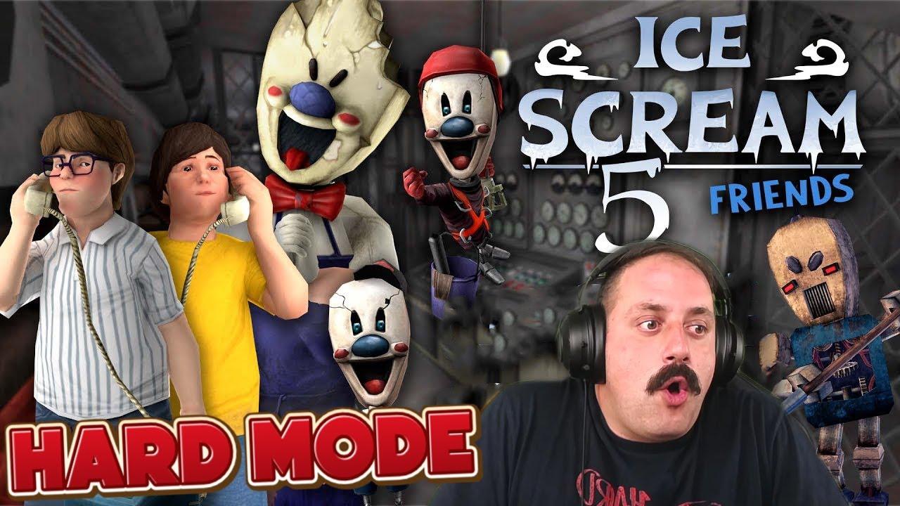 ICE SCREAM 5 ΑΛΛΑ ΣΤΟ HARD MODE