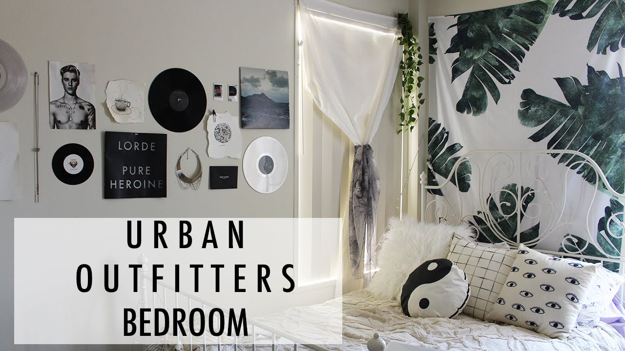 Urban Outfitters Inspired Bedroom // Dorm Room // Los ...