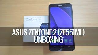 ASUS Zenfone 2 (ZE551ML) Unboxing- 2.3Ghz Intel Atom and 4GB RAM | Techniqued