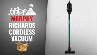 Save Big On Morphy Richards Cordless Vacuum Black Friday / Cyber Monday 2018 | UK Black Friday 2018