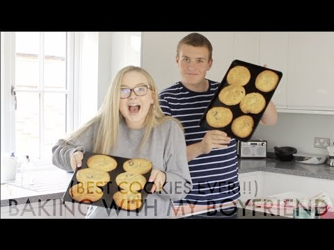 BAKING WITH MY BOYFRIEND! **MUST WATCH** | THE BEST COOKIES EVER! thumbnail