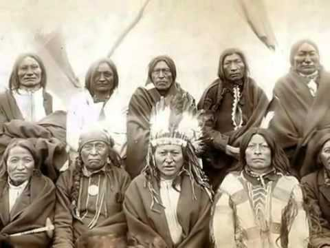 indios americanos  sioux,apaches