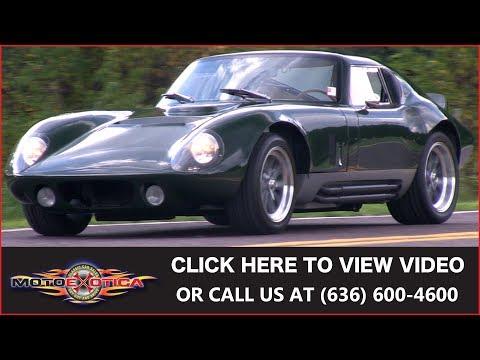 1965 Shelby Cobra Daytona Coupe Replica || For Sale