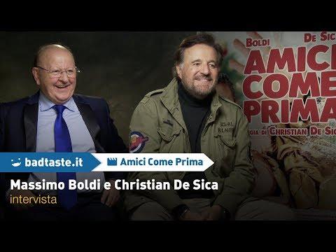 Amici come Prima: Massimo Boldi e Christian De Sica di nuovo insieme | INTERVISTA