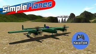 SimplePlanes - P-38, ховер, Бэтвинг и другие работы подписчиков