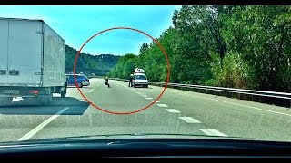 WILD POLICE CHASE IN SPAIN (GONE WRONG)