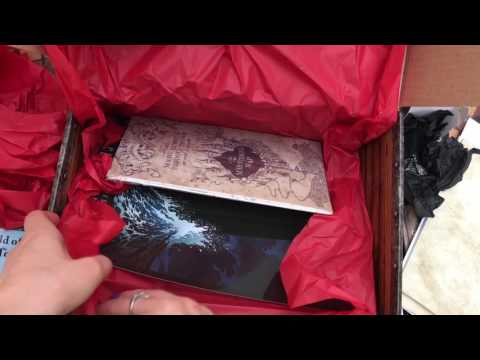Harry Potter Subscription Box unboxing by Geek Gear Box For September 2016