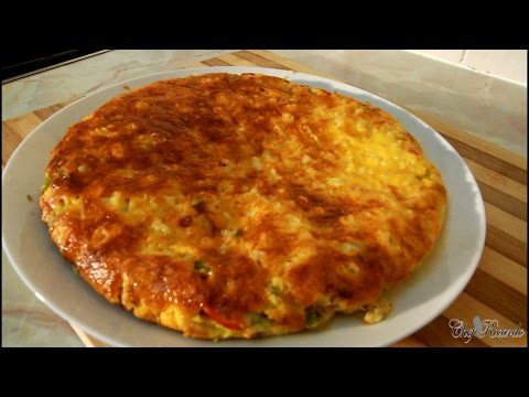 How To Make The Perfect Egg Omelette With Cheese & Veg Egg Omelette Recipe | Recipes By Chef Ricardo
