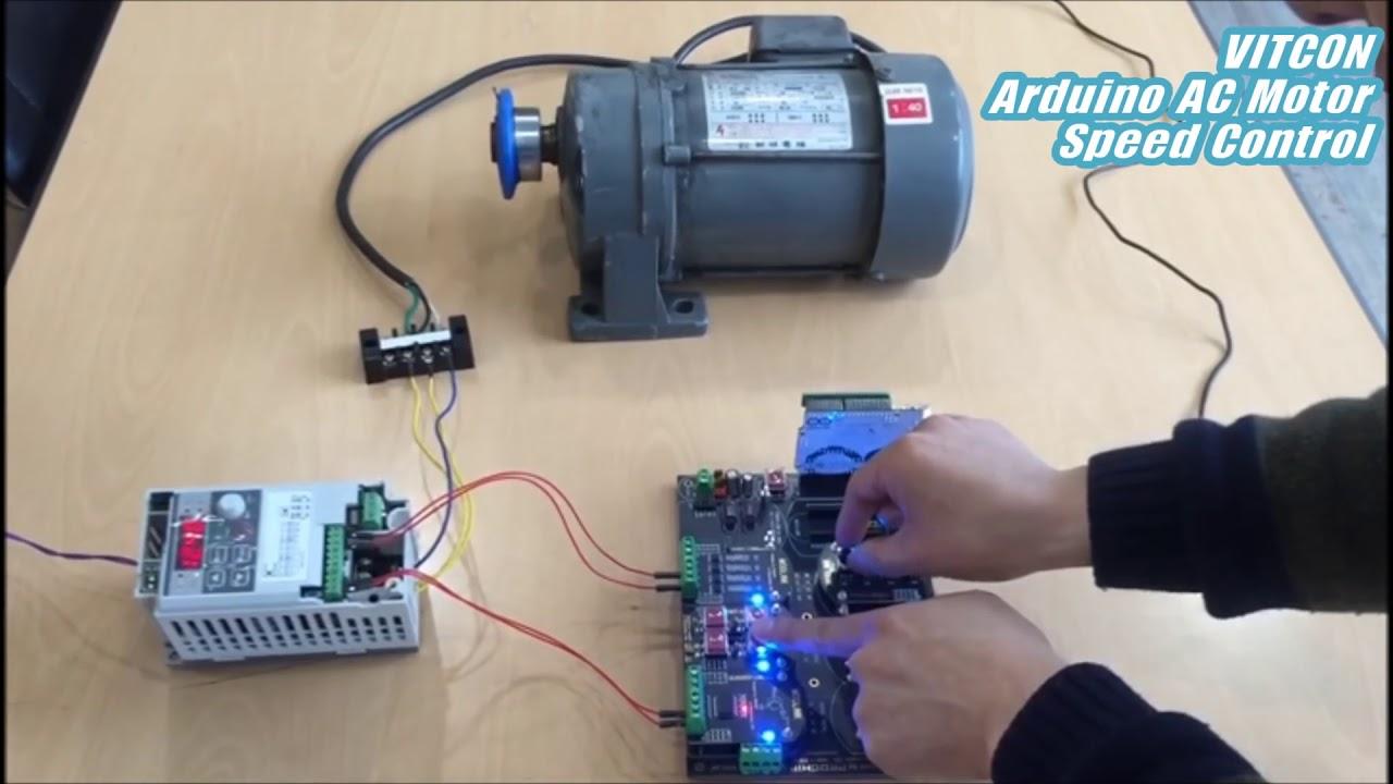 Single Phase Induction Motor Speed Control Youtube